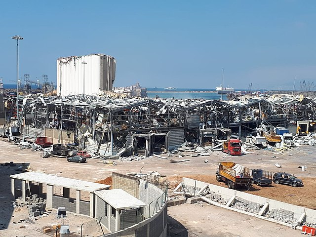 Aftermath of the 2020 Beirut explosions